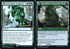 Turntimber Symbiosis // Turntimber, Serpentine Wood - Foil - Prerelease Promo