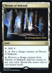 Throne of Makindi - Foil - Prerelease Promo