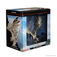 D&D Icons of the Realms: Adult White Dragon Premium Figure