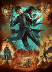Jace, Mirror Mage 2 Art Card