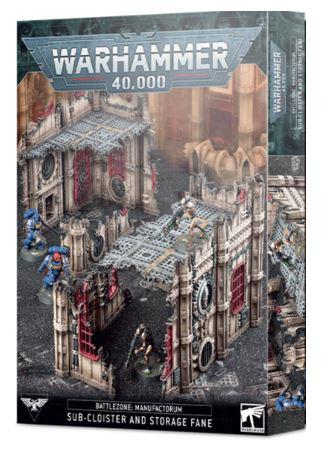 Battlezone: Manufactorum Sub-Cloister & Storage Fane
