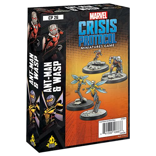 Marvel: Crisis Protocol - Ant Man and Wasp Character Pack