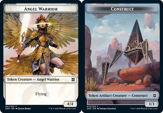 Angel Warrior Token // Construct Token - Foil