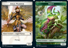 Angel Warrior Token // Insect Token - Foil