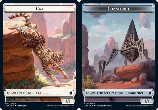 Cat Token // Construct Token - Foil