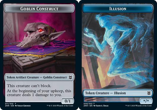 Goblin Construct Token // Illusion Token - Foil