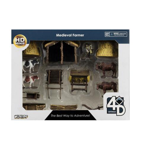 4D Settings: Medieval Farmer