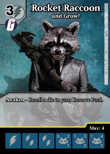 Rocket Raccoon: and Grow! - Foil