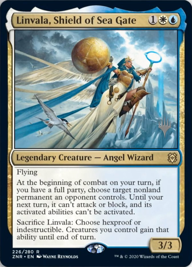 Linvala, Shield of Sea Gate - Foil - Promo Pack