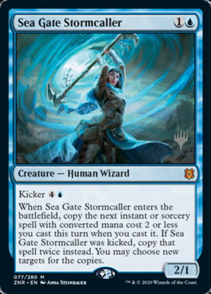 Sea Gate Stormcaller - Foil - Promo Pack