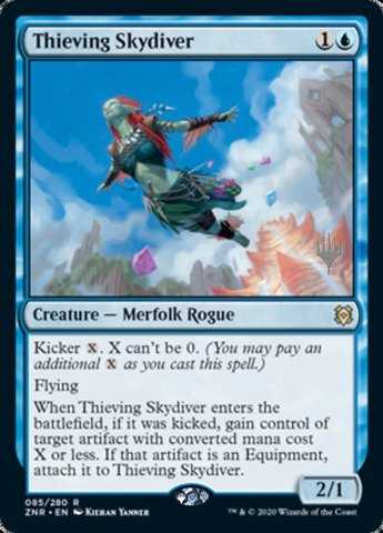 Thieving Skydiver - Promo Pack