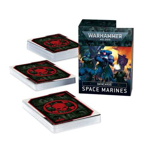 Datacards: Space Marines  (ENGLISH)