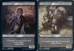 Walker (Blade Walker) Token // Walker (Well Walker) Token - Foil