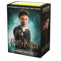 Dragon Shield Sleeves: Art Matte: Harry Potter (Box Of 100)