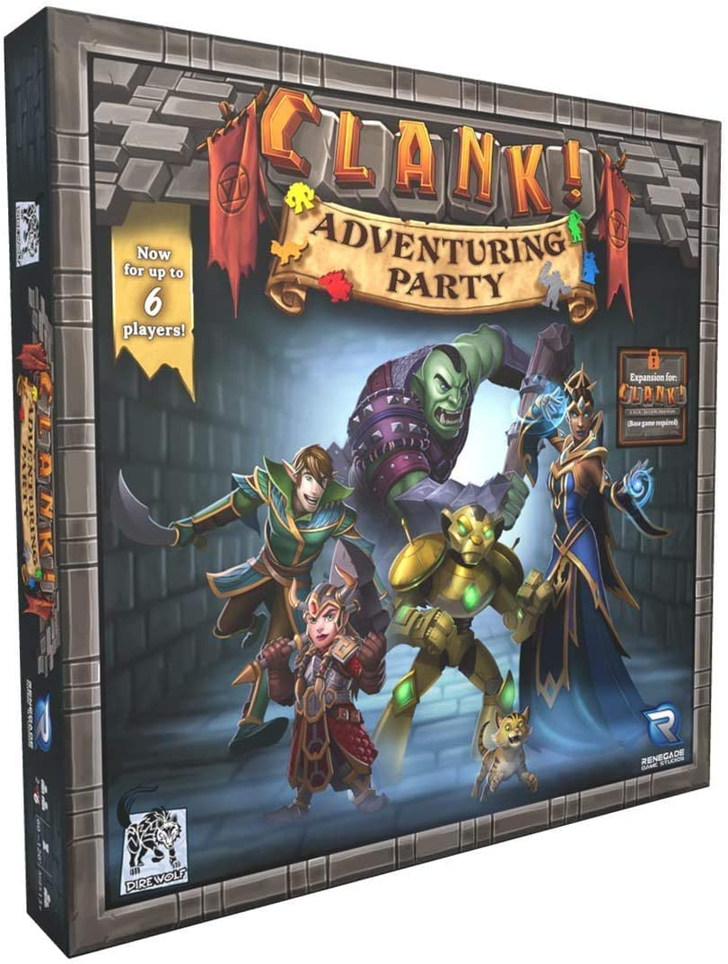 Clank! Adventuring Party Expansion (2020)