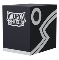 Dragon Shield Double Deck Shell Black Black