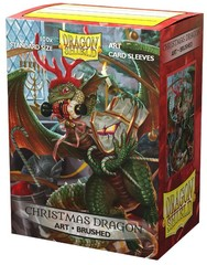 Dragon Shield 100CT Box Brushed Art Sleeves Christmas 2020