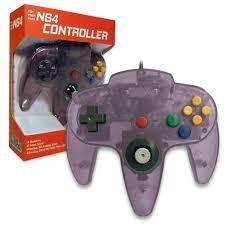 Old Skool N64 Controller Atomic Purple