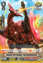 Cannon Fire Dragon, Parasaulauncher - V-BT10/023EN - RR