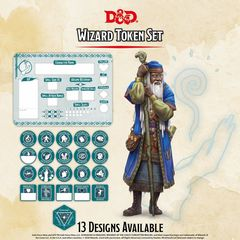 D&D Token Set: Wizard