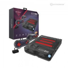 RetroN 3 HD 3-in-1 Retro Gaming Console for NES, Super NES/Super Famicom, and Genesis/Mega Drive (Space Black) - Hyperkin