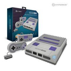 RetroN 2 HD Gaming Console for NES/ Super NES/ Super Famicom (Gray) - Hyperkin