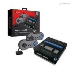 SupaRetroN HD Gaming Console for SNES/ Super Famicom (Space Black) - Hyperkin
