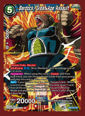 Bardock, Great Ape Assault - DB3-027 - SR