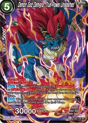 Demon God Demigra, True Power Unleashed - DB3-109 - SR