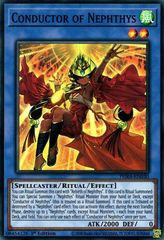 Conductor of Nephthys - PHRA-EN030 - Super Rare - 1st Edition