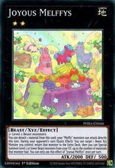 Joyous Melffys - PHRA-EN044 - Super Rare - 1st Edition