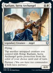 Radiant, Serra Archangel - Foil