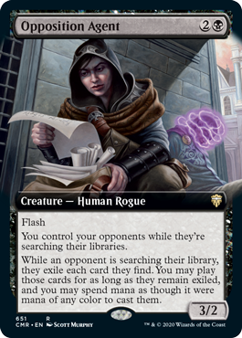 Opposition Agent - Foil - Extended Art