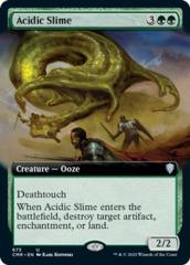 Acidic Slime - Foil - Extended Art