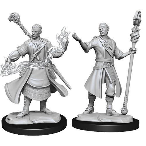 D&D Nolzurs Marvelous Unpainted Miniatures: W14 Male Half-Elf Wizard