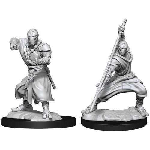 D&D Nolzurs Marvelous Unpainted Miniatures: W14 Warforged Monk