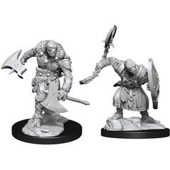 D&D Nolzur's Marvelous Unpainted Miniatures: W14 Warforged Barbarian