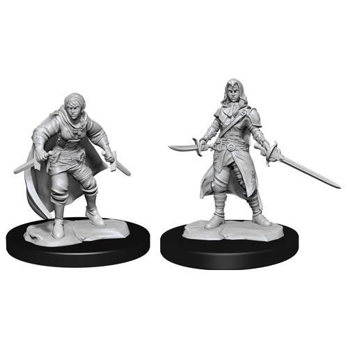 D&D Nolzurs Marvelous Unpainted Miniatures: W14 Female Half-Elf Rogue