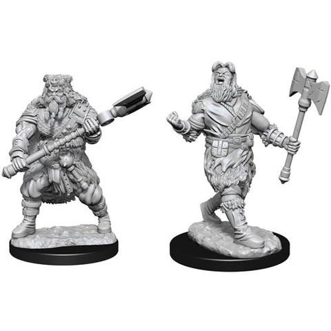 D&D Nolzurs Marvelous Unpainted Miniatures: W14 Male Human Barbarian