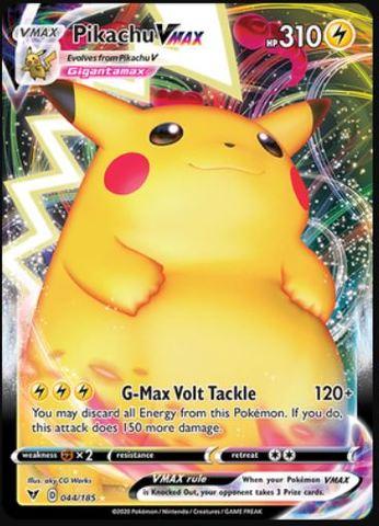 Pikachu VMAX - 044/185 - Ultra Rare
