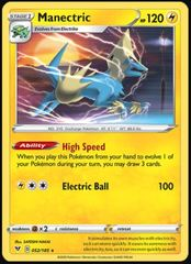 Manectric - 052/185 - Rare on Channel Fireball