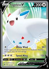 Togekiss V - 178/185 - Full Art Ultra Rare
