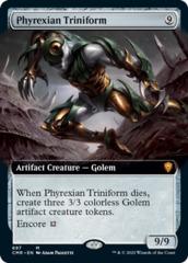 Phyrexian Triniform - Extended Art