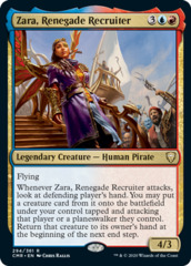 Zara, Renegade Recruiter - Foil