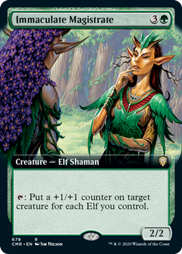 Immaculate Magistrate - Foil - Extended Art