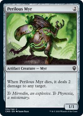 Perilous Myr