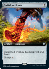 Swiftfoot Boots (Extended Art)(CMR)