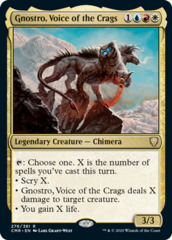 Gnostro, Voice of the Crags - Foil