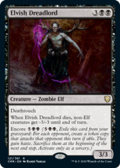 Elvish Dreadlord - Foil