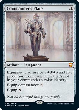 Commanders Plate - Foil